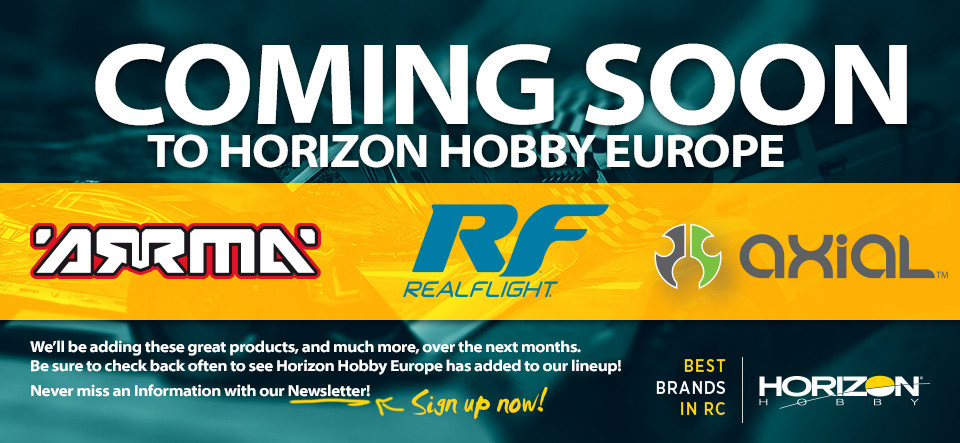 Coming Soon to the Horizon Hobby RC Web Shop