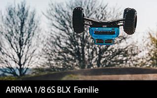 ARRMA 1/8 6S BLX Family now with Spektrum