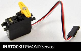 In Stock DYMOND Servos