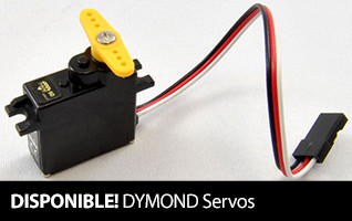 In Stock DYMOND Servos