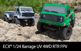 ECX 1/24 Barrage UV 4WD RTR FPV
