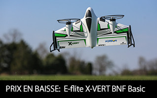 E-flite X-VERT VTOL BNF Basic