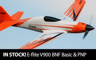 Back in Stock E-flite V900 BNF Basic and PNP
