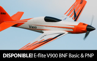 Back in Stock E-flite V900 BNF Basic and PNP