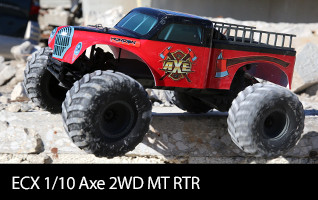 ECX 1/10 Axe 2WD Monster Truck RTR