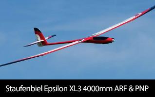 Staufenbiel Gliders Epsilon XL3 4000mm ARF & PNP