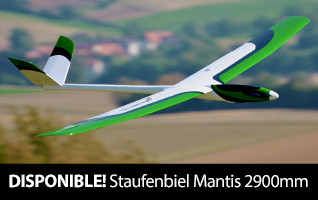Staufenbiel Mantis 2900mm PNP and ARF