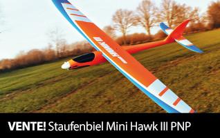 VENTE Staufenbiel Mini Hawk III PNP