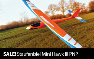 Staufenbiel Mini Hawk III PNP