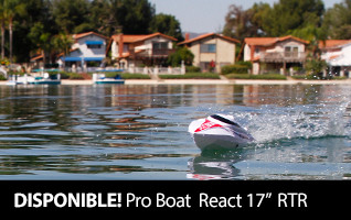 Pro Boat React 17 inch RTR