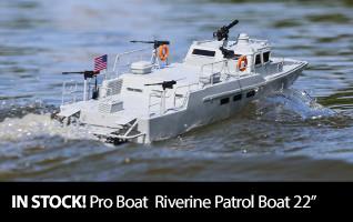 Pro Boat Riverine Patrol Boat 22 inch RTR