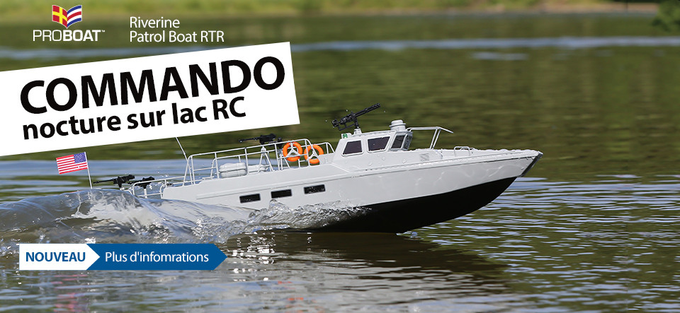 ProBoat Patrol Boat RTR