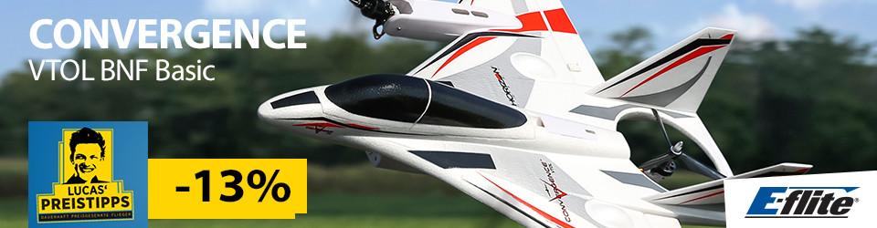E-Flite Convergence VTOL Airplane