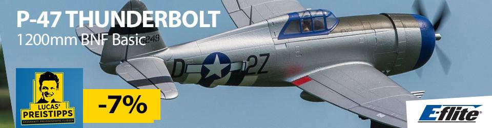 E-Flite P-47 Thunderbolt