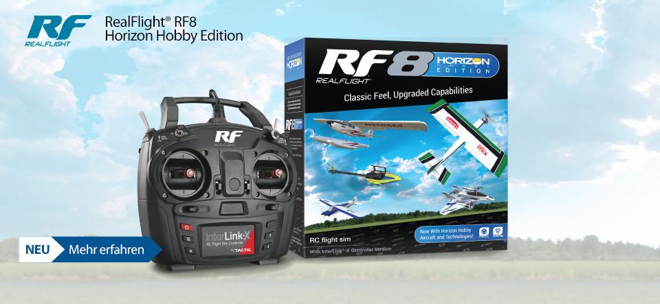 Jetzt mit exklusiven Horizon Hobby Flugmodellen und Technologien!