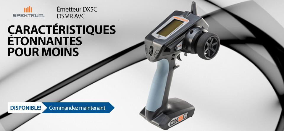 In Stock! DX5C DSMR Transmitter with SRS600 or SR415