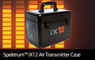 Spektrum iX12 Air Transmitter Case