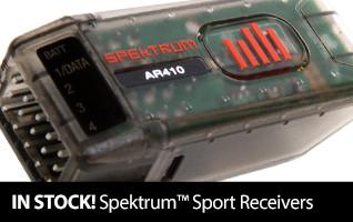 Back in Stock Spektrum Sport Receivers