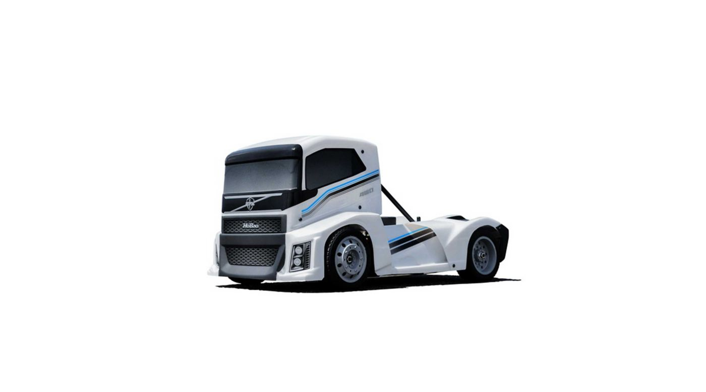 Image for 1/10 Hyper EPX 4WD Semi Truck On-Road Brushless ARTR, White from HorizonHobby