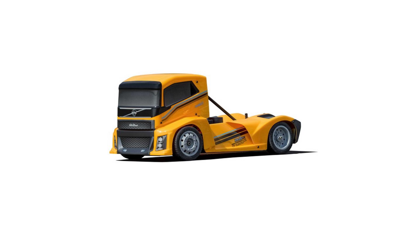 Image for 1/10 Hyper EPX 4WD Semi Truck On-Road Brushless ARTR, Yellow from HorizonHobby