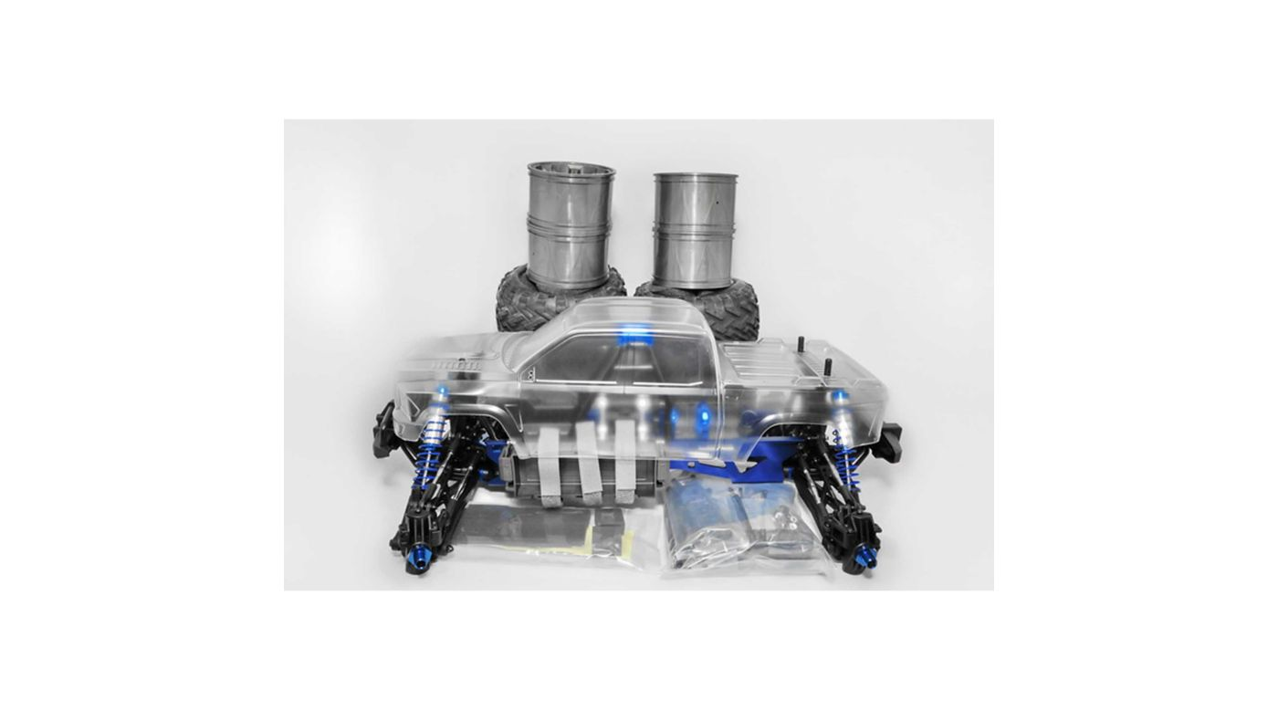 Image for 1/10 Hyper MT Plus II 4WD Monster Truck Brushless ARTR with Clear Body from HorizonHobby