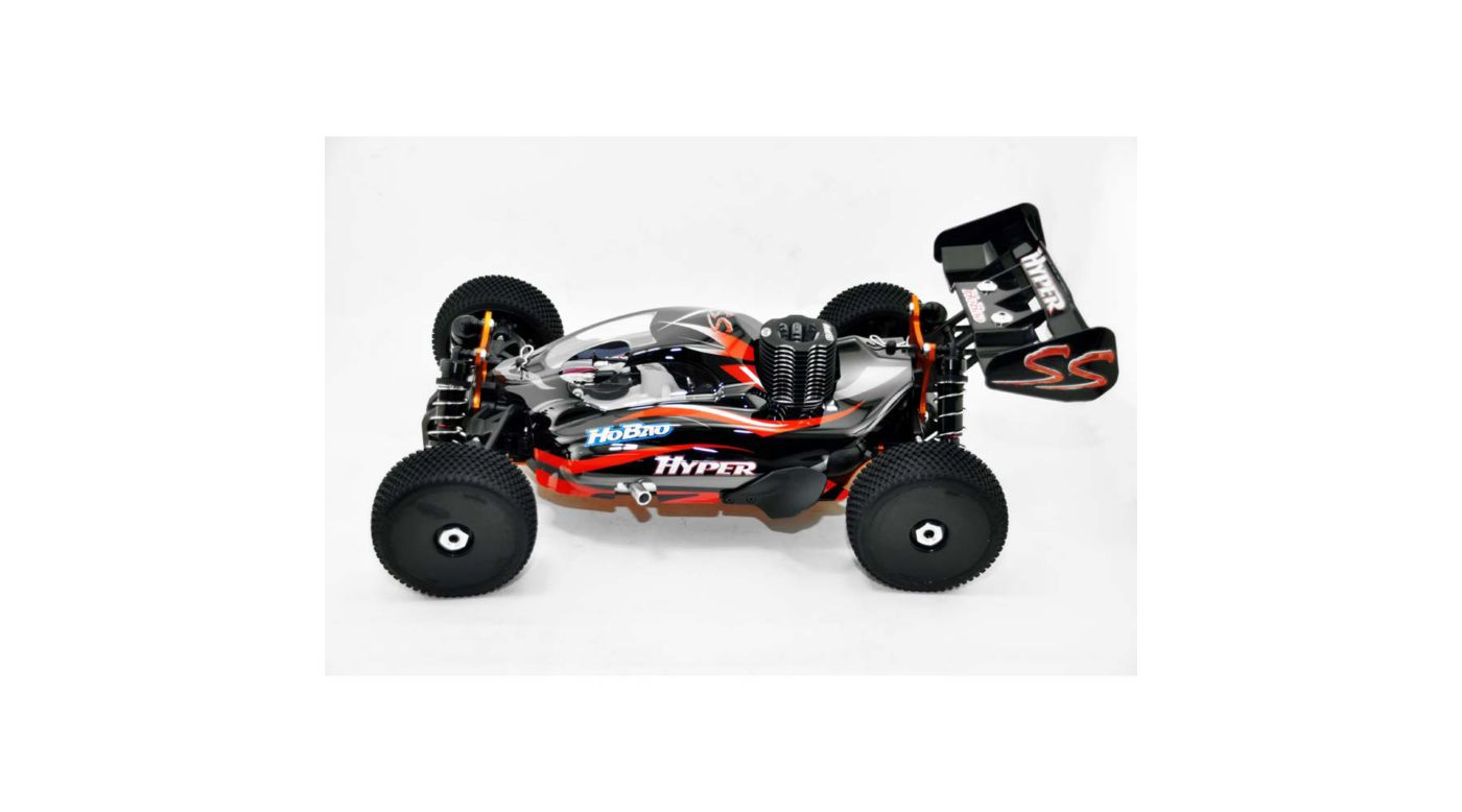 Image for 1/8 Hyper SS Nitro RTR, Black from HorizonHobby