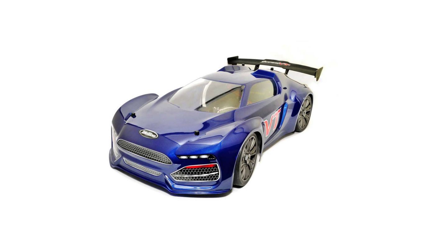 Image for 1/10 Hyper VT 4WD On-Road GT Nitro RTR, Blue from HorizonHobby