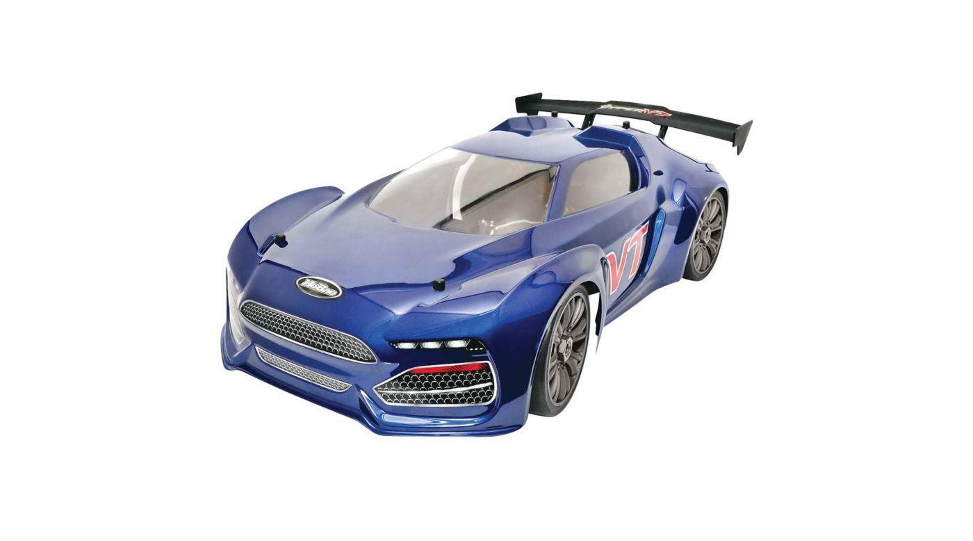 Image for 1/8 Hyper VTe 4WD GT Brushless RTR, Blue from HorizonHobby