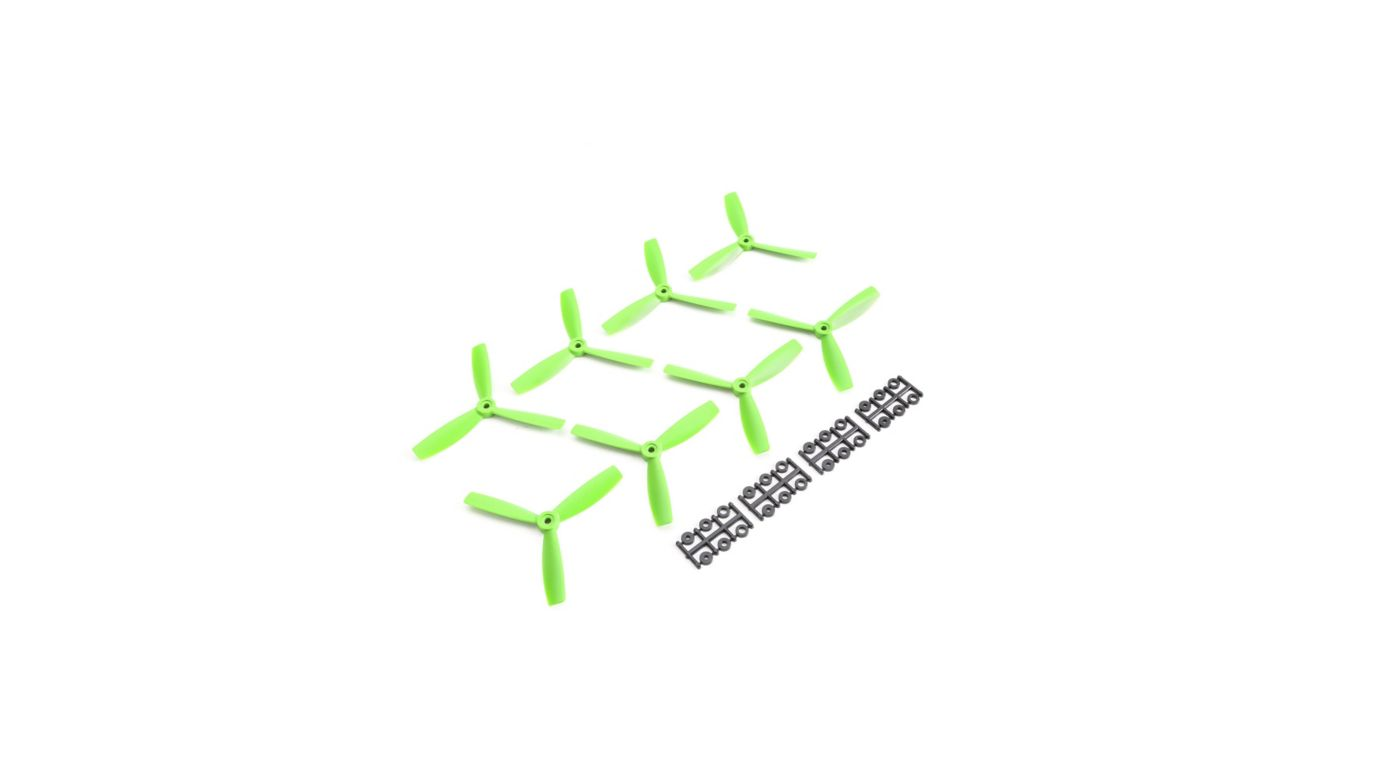 Image for Triple BN Prop 5x4.5x3, Green: 8 pack from HorizonHobby
