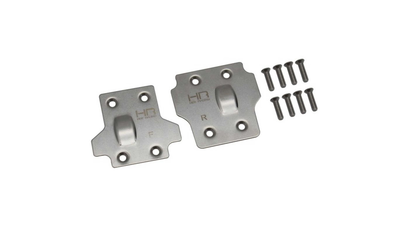 Image for Stainless Steel Skid Plate Set: ARRMA 1/8 BLX from HorizonHobby