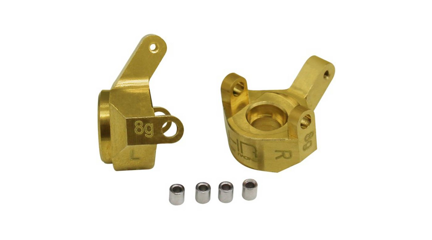 Image for Brass Front Steering Knuckle: SCX24 from HorizonHobby