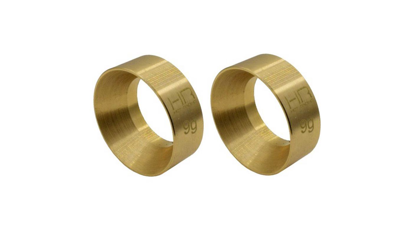 Image for 9g Brass KMC Machete Wheel Weights: SCX24 from HorizonHobby