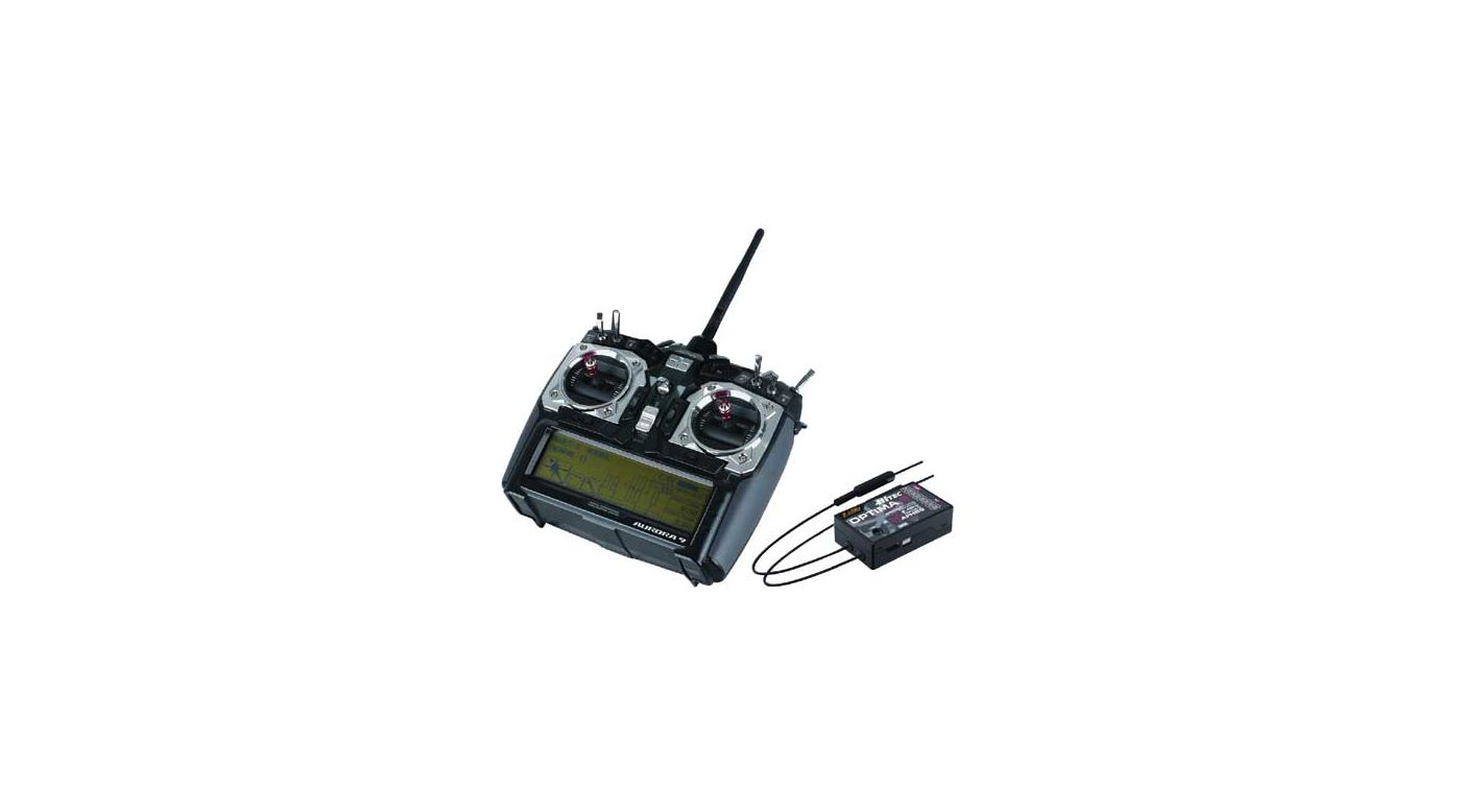 Image for Aurora 9 2.4GHz Transmitter, Optima 9 Receiver from HorizonHobby