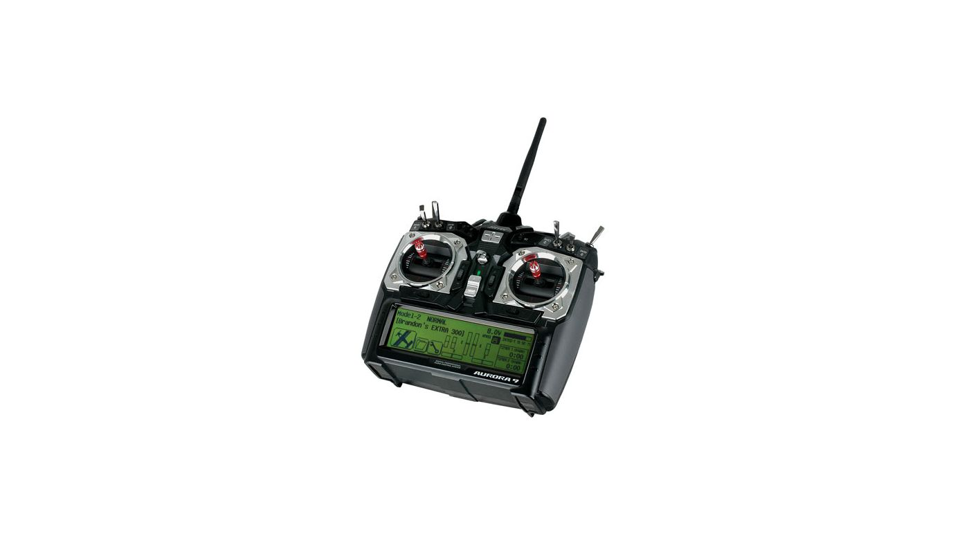 Image for Aurora 9 2.4GHz Transmitter, Optima 7 Receiver from HorizonHobby