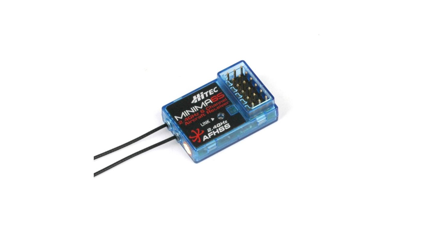 Image for Minima 6S, 6-Ch, 2.4GHz, Micro Receiver from HorizonHobby
