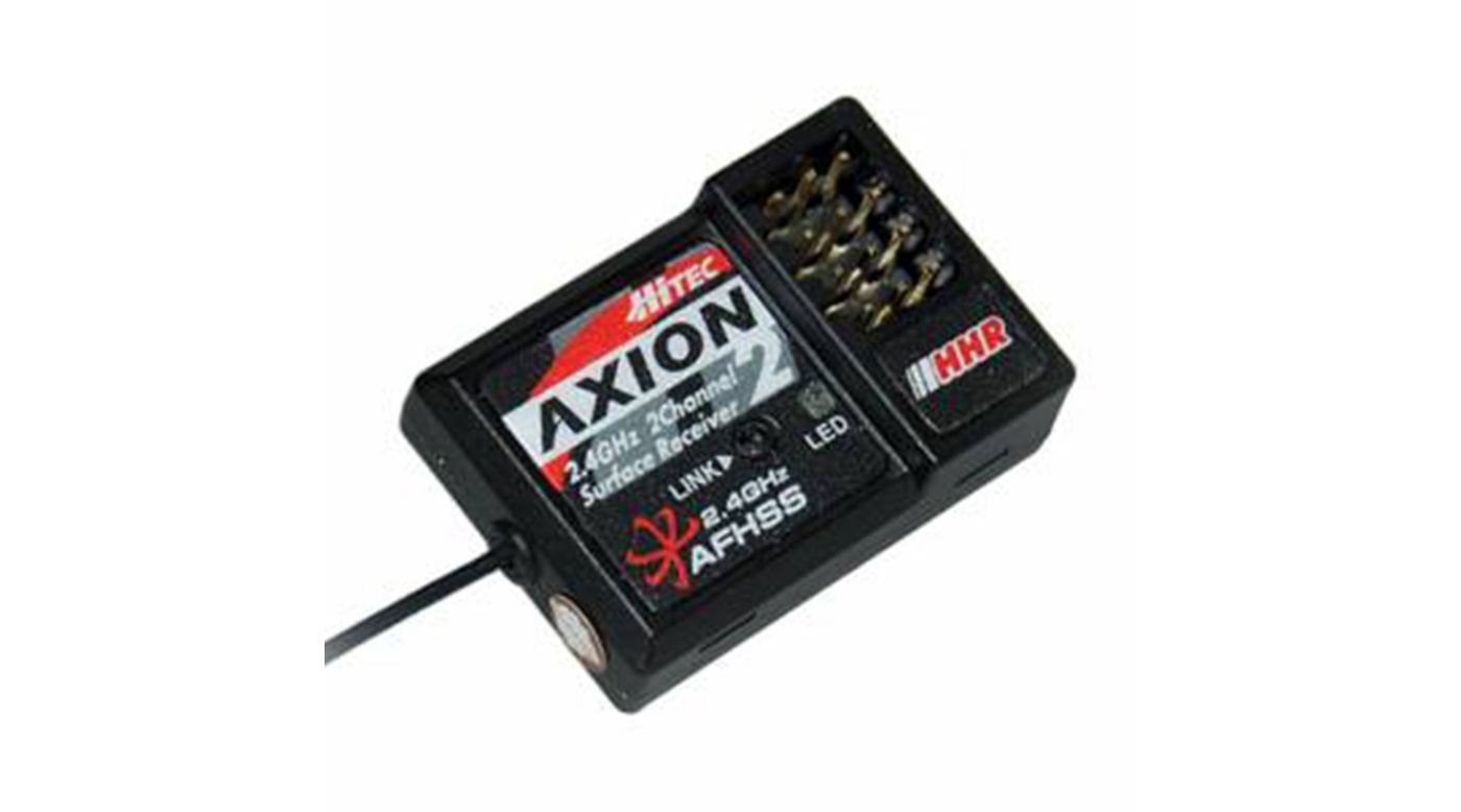 Image for Axion 2, 2-Channel High Response, 2.4GHz Receiver from HorizonHobby