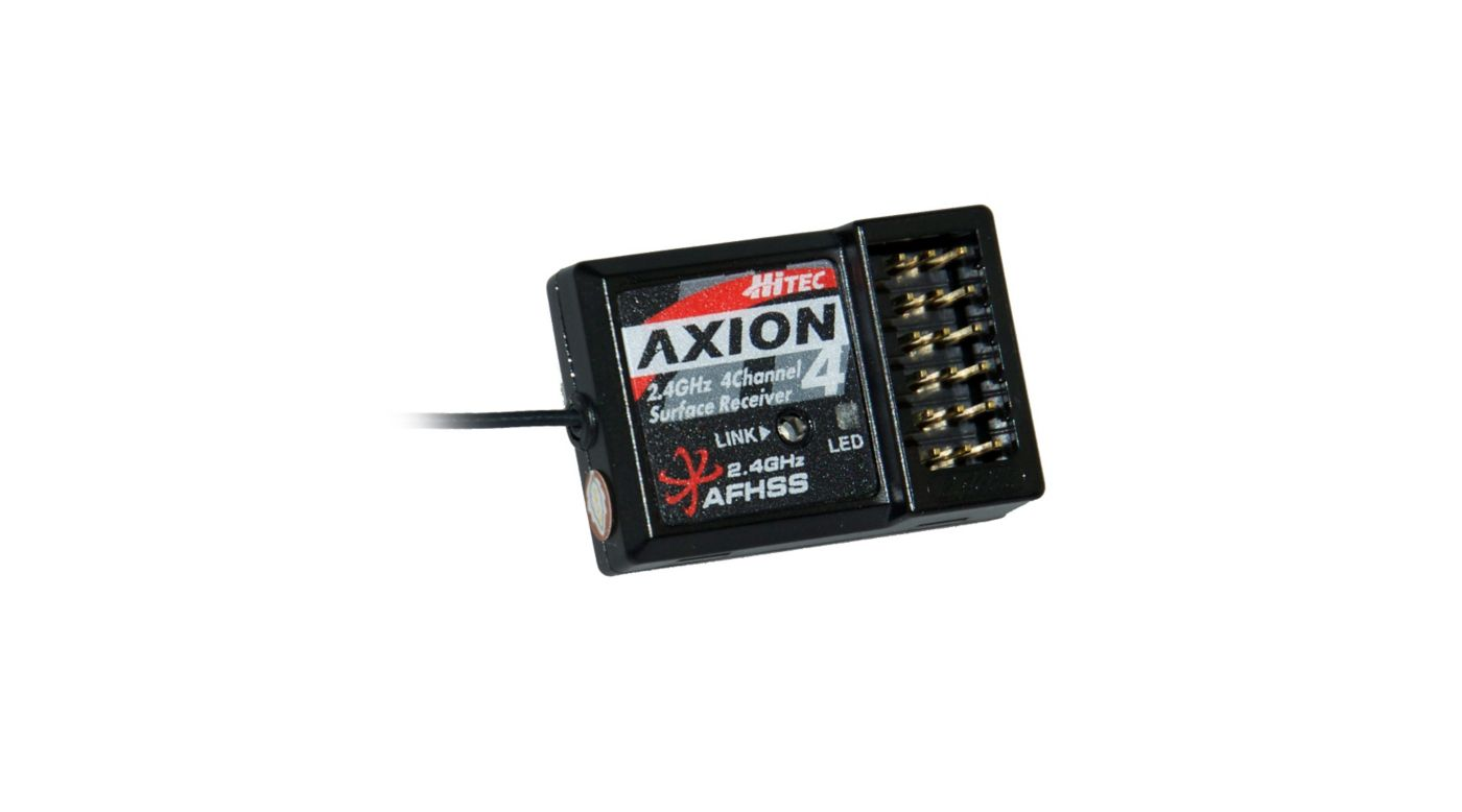 Image for Axion 4, 4-Channel, 2.4GHz Receiver from HorizonHobby