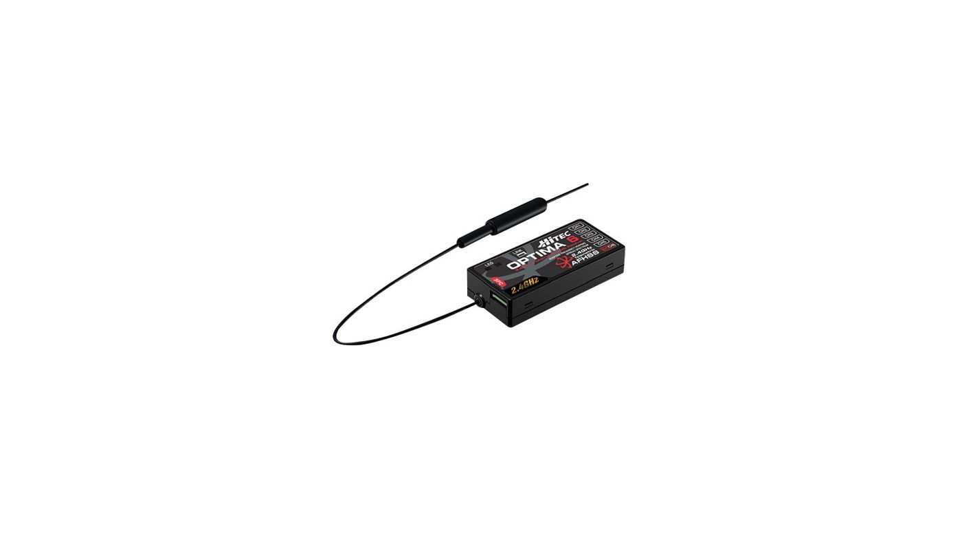 Image for Optima 6 - 6-Channel 2.4GHz Receiver from HorizonHobby