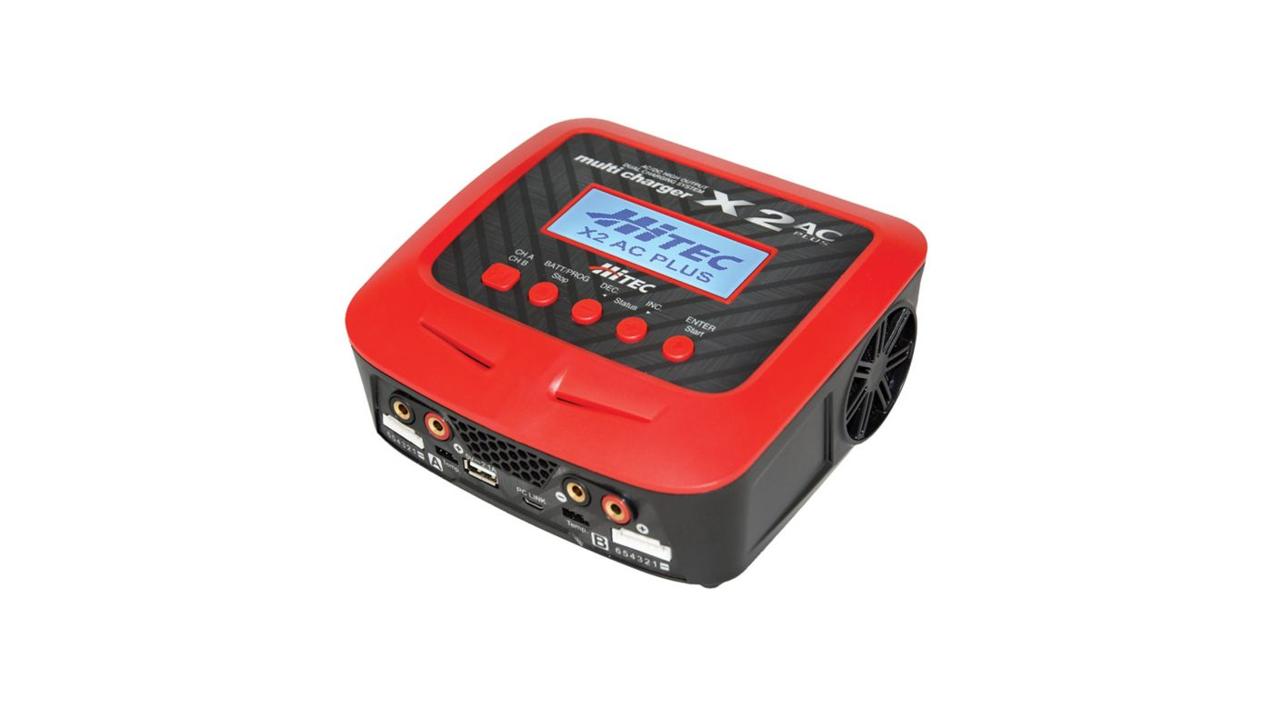 Image for X2 AC Plus Dual Charger, AC/DC High Output from HorizonHobby