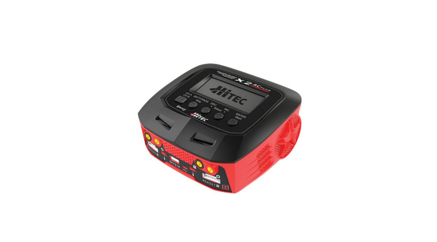 Image for X2 AC Plus Black Edition Multi-Function AC/DC Charger from HorizonHobby