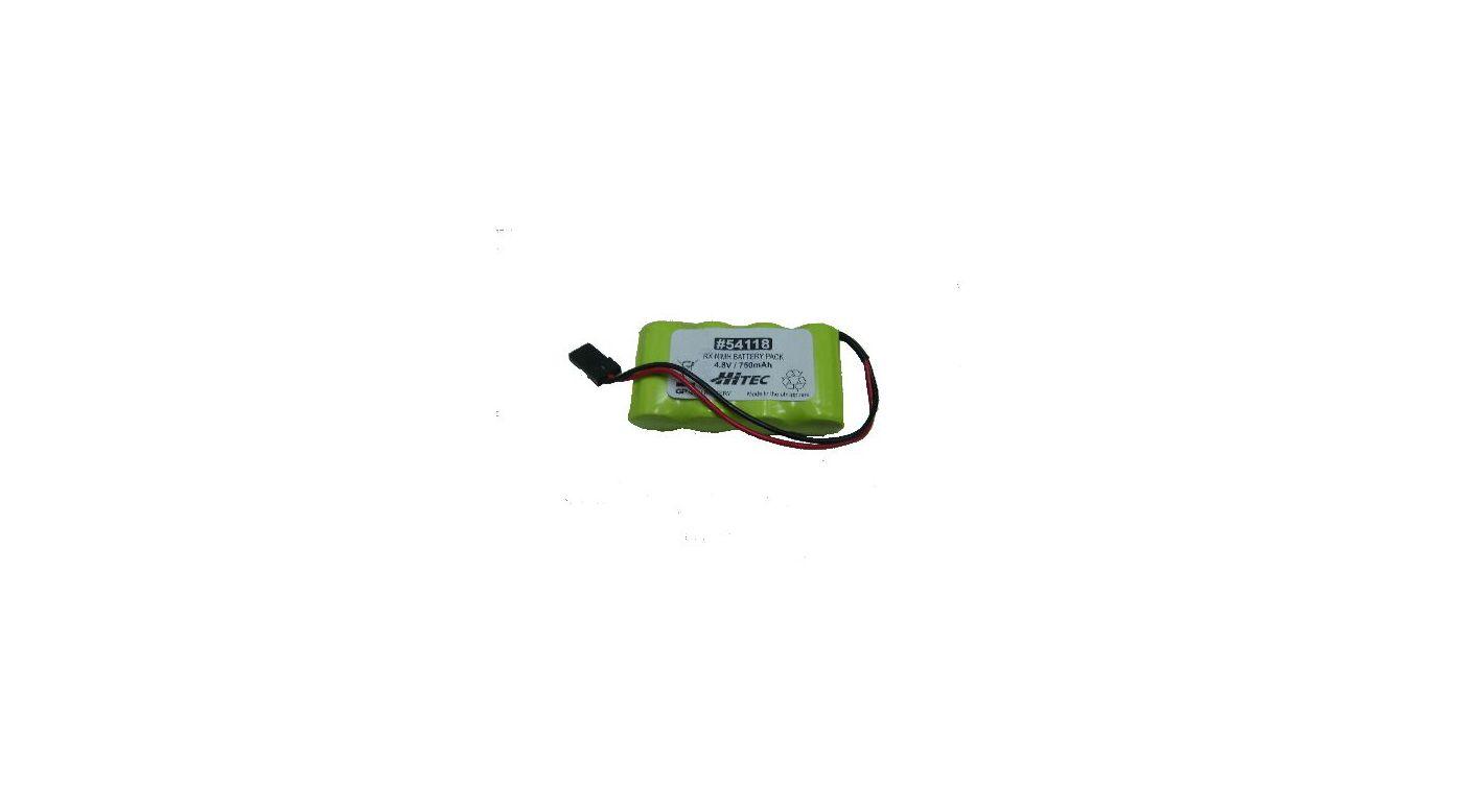 Image for 4.8V 750mAh NiMH Flat Receiver Battery: Universal Receiver from HorizonHobby