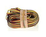 Hitec RCD Inc. - 50' 3-Color Heavy Gauge Servo Wire