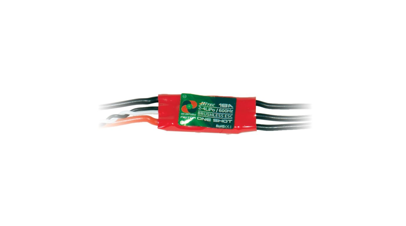 Image for Energy Rotor BL ESC, 18A, 2-4S LiPo, 4-Pack from HorizonHobby