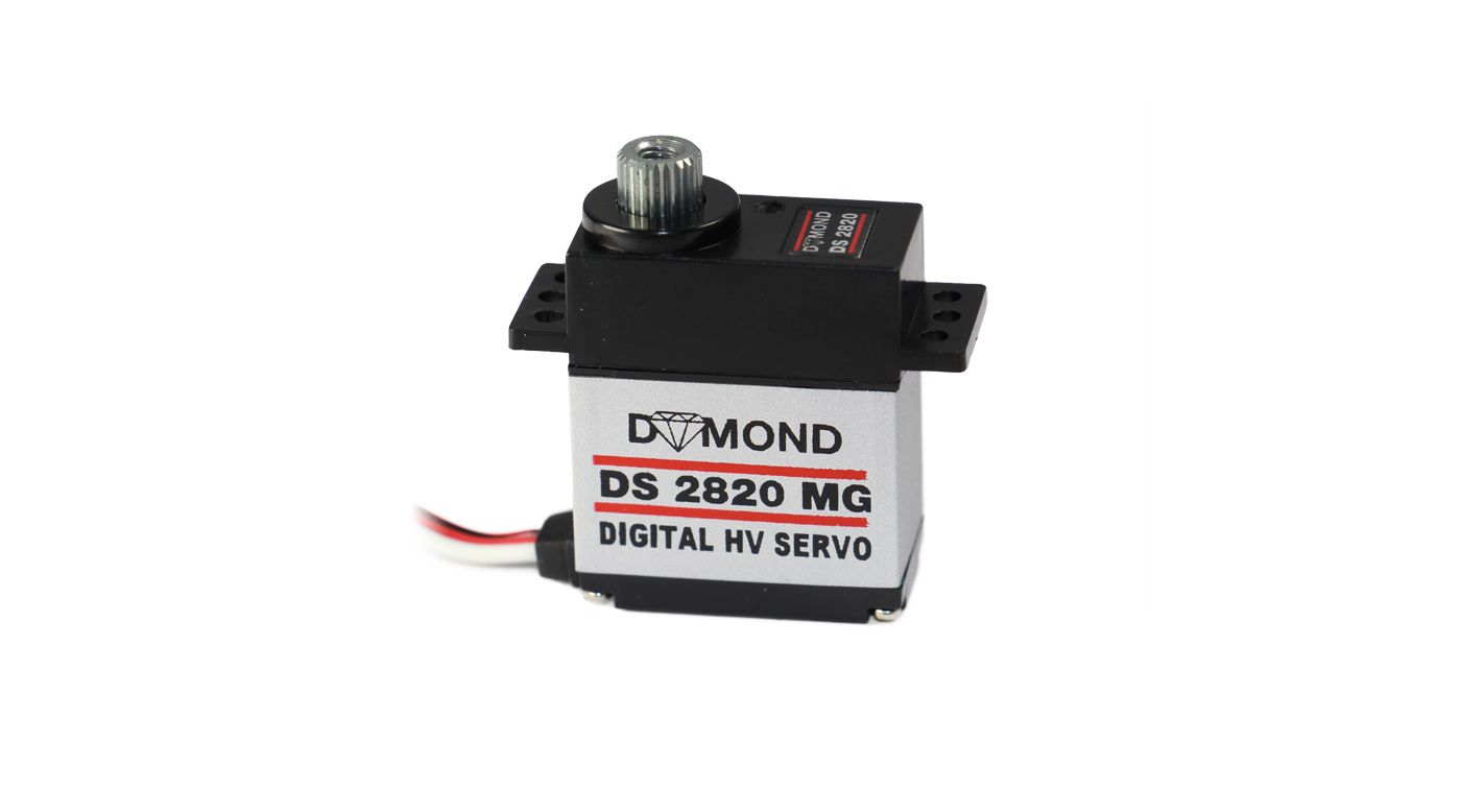 Grafik für DYMOND DS 2820 MG HV digital Servo in Horizon Hobby