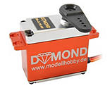 DYMOND - DYMOND DS-X TG HV brushless digital Servo (Alugehäuse)