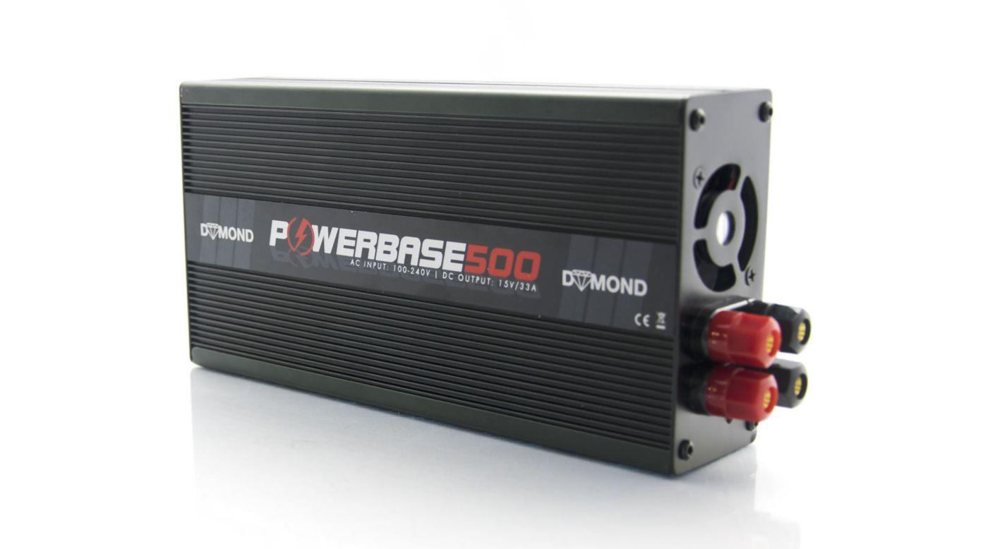 Grafik für DYMOND Powerbase 500W Netzteil 33A 15V in Horizon Hobby