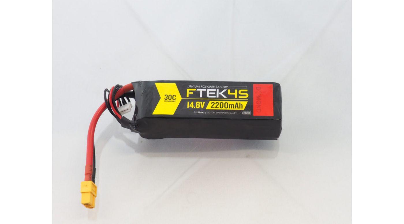 Grafik für DYMOND F-TEK 4S 2200mAh (14,8V) 30C LiPo Akku (XT60) in Horizon Hobby