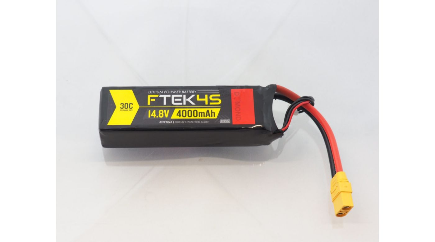 Image for F-TEK 4S 4000mAh 30C LiPo (XT90) from Horizon Hobby
