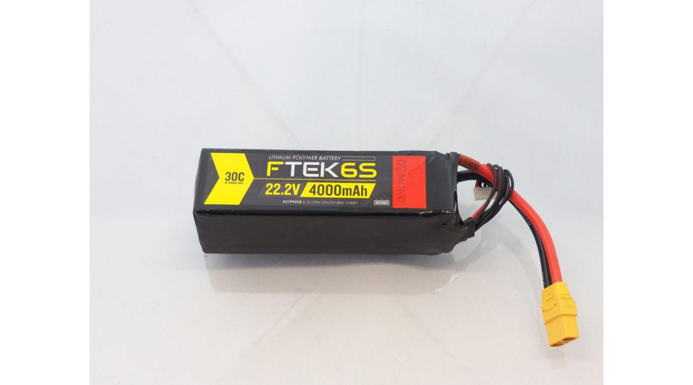 Image for F-TEK 6S 4000mAh 30C LiPo (XT90) from Horizon Hobby