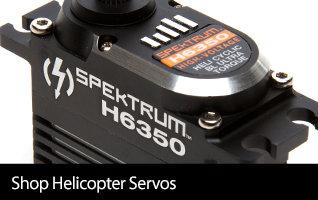 Shop Helicopter Servos from Spektrum